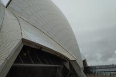 Struktur der Oberfläche der Oper
