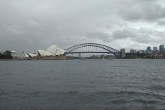 Blick auf den die Harbor Bridge und die Oper