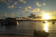 Sonnentuntergang in Watson Bay
