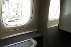 Der Sitzplatz in der 777
