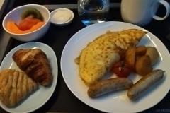 Frühstück auf Flug 1