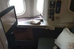 Der Sitz im A330