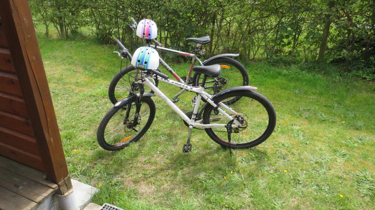 Unsere ausgeliehenen Fahrräder