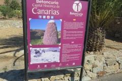 Informationstafel zu Betancuria