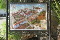 Informationstafel zum historischen Stadtkern