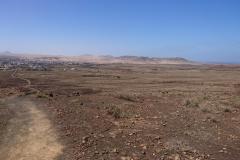 Blick zurück nach Lajares
