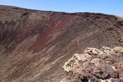 Ein Blick in den Krater