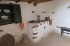Die einfache Küche  in Haus 2