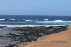 Blick auf den Atlantik am Faro de Punta Jandia