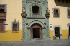 Eingang zur Casa Colon
