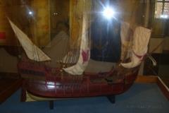 Modell eines Schiffes von Columbus