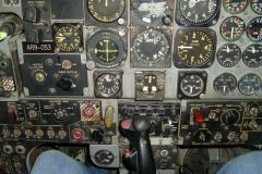 Im Cockpit des Kampfjets