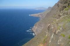 Steilküste im Norden Gran Canarias