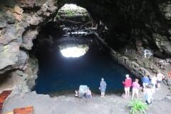 Blick in den unterirdischen See