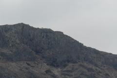Mirador del Rio von der Fähre aus gesehen
