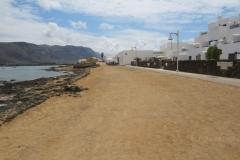 """""""Strandpromenade"""" in Caleta del Sebo"""