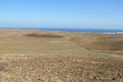Aussicht aus dem Krater