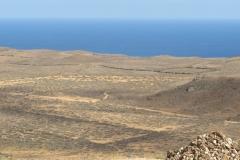 Blick in die Ebene vor dem Vulkan
