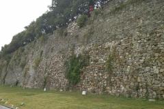 Stadtmauer von unten