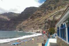 View from Playa de los Guíos