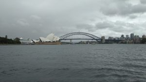 Sydney Harbor Bridge und Opera House