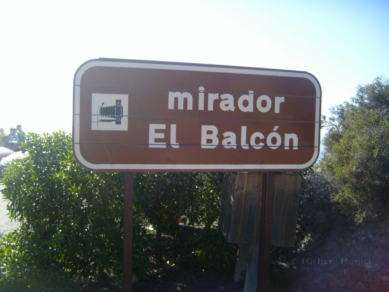Mirador El Balcon